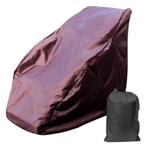 POHOVE - Coprisedia da massaggio completo per massaggio, protezione per sedia a sdraio Zero Gravit y singola con cerniera universale impermeabile