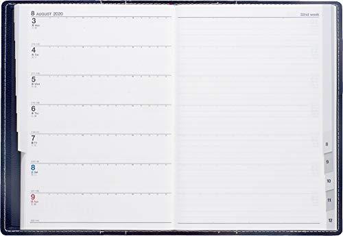 高橋手帳2020年B6ウィークリーシャルムR1ブルーネイビーNo.351(2020年1月始まり)