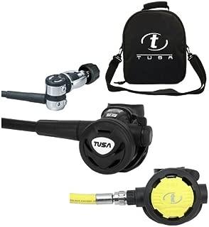 TUSA RS-860/SS60, Balanced Scuba Diving Regulator & Octo Free Regulator Bag