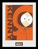 GB Eye South Park/Kenny/Gerahmter Druck, Mehrfarbig, 30x