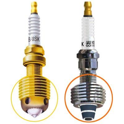 SET OF 3 PERFORMANCE SPARK PLUG Yamaha XLT1200 (all) XCQ44LR14ZCDZ3P47