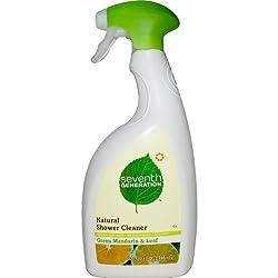 Seventh Generation Green Mandarin  Leaf Shower Cleaner 32 oz Spray Bottle