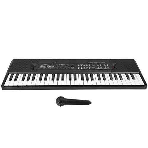 Mini piano electrónico duradero para amantes de la música para estudiantes