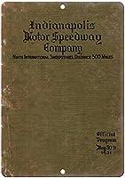 Indianapolis Motor Speedway 500 Mile ティンサイン ポスター ン サイン プレート ブリキ看板 ホーム バーために