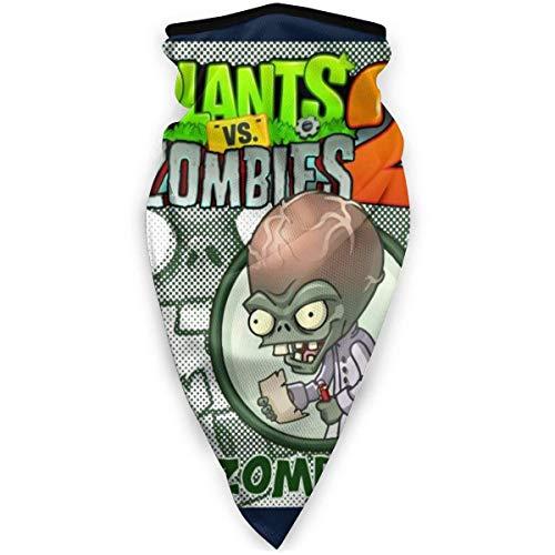 Yuanmeiju Bufanda Plants Vs Zombies Dr Zomboss Bandanas faciales For Dust,Outdoors,Festivals,Sports