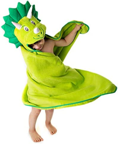 Premium Hooded Towel for Kids Dinosaur Design Ultra Soft and Extra Large 100 Cotton Bath Towel product image