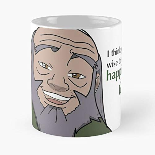 Wisdom The Iroh Quotes Airbender Last Uncle Avatar - Best 11 Ounce Ceramic Mug - Classic Mug for Coffee, Tea, Chocolate or Latte