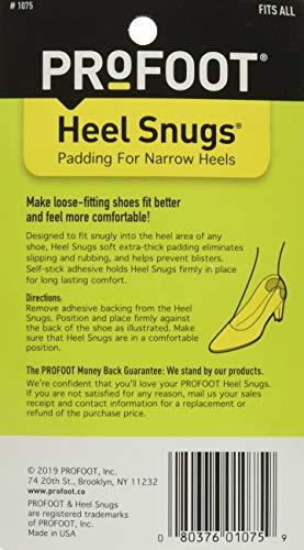 ProFoot Heel Snugs 1 Pair