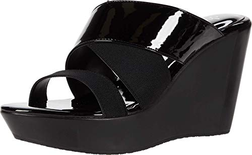 CHARLES BY CHARLES DAVID womens Wedge Platform, Black, 8.5 US