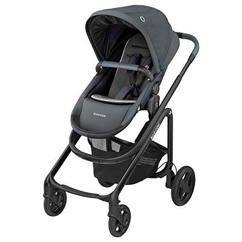 Maxi-Cosi Lila CP Poussette bébé Compacte et Confortable, Poussette Pliable, 6 mois à 4 ans, 0-22 kg, Essential Graphite (grise)
