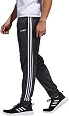 Elastic pull on waistband with interior draw cord closure Sporty jogger style cuffed tapered pants for training sessions or between Classic iconic contrast 3-Stripes and tapered fit for an athletic look Two handy side seam pockets Climawarm moisture ...