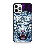 Coque de protection pour iPhone 6 Motif tigre aux yeux bleus