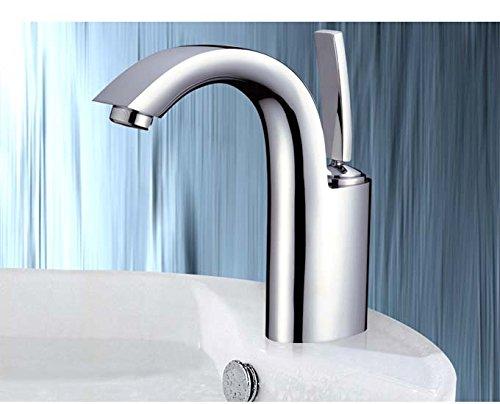Einhand Wasserhahn Waschbecken Waschtischarmatur Bad Einhandmischer Waschtisch Einhebel Mischbatterie Armatur Chrom