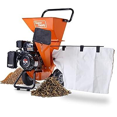 SuperHandy Gas or Electric Wood Chipper Shredder Mulcher