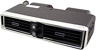 Old Air Products Under Dash A/C Unit, Chrome Face with rectangular louvers #IP-200L