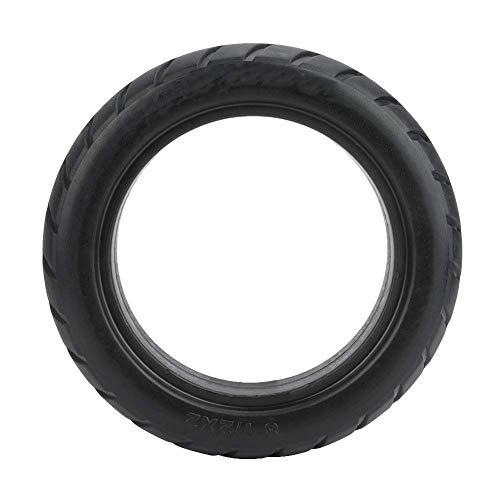 WYDM Neumático de 9.1 Pulgadas - Reemplazo de neumático de Cubierta de Rueda de neumático sólido Delantero/Trasero para Scooter eléctrico Duradero M365 (Negro)