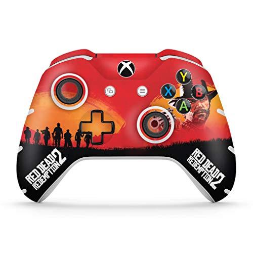 Skin Adesivo para Xbox One Slim X Controle - Red Dead Redemption 2