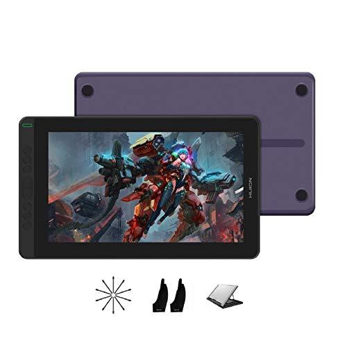 2020 HUION KAMVAS 13 Android Soporte Gráficos Dibujo Tableta Monitor con Pantalla Laminada Completa Sin Baterías Stylus 8192...