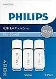 Pen Drive 32gb USB 2.0 Philips Snow Edition Grey FM32FD70E/00 chiavetta flash drive (32 GB...