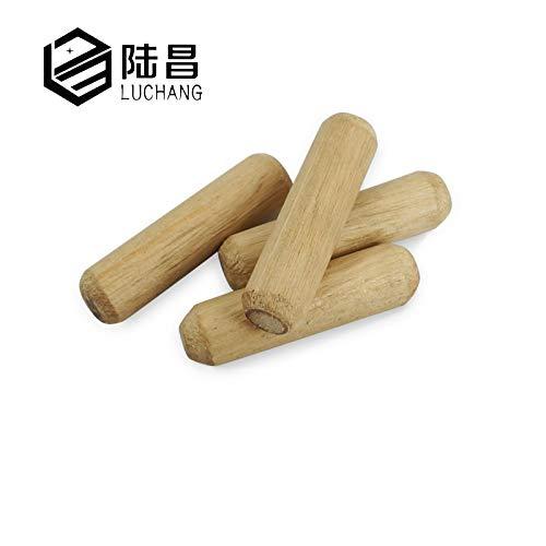 Luchang M6 M7,8 M8 M10 M12 Holzdübel Schrank Schublade rund geriffelt Holzdübel Stangen Set Möbelbeschlag
