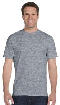 Gildan Mens DryBlend 50 Cotton/50 Poly T-Shirt XL Dark Heather