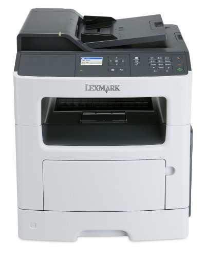 Lexmark MX310dn Compact All-In One Monochrome Laser Printer, Network Ready, Scan, Copy, Duplex Printing and Professional Features
