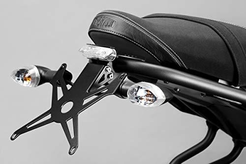 XSR700 2015/20 - Kit Kennzeichenhalter (R-0777) - Einstellbare Nummernschild Halter - inkl. LED und Hardware-Bolzen - Motorradzubehör De Pretto Moto (DPM Race) - 100% Made in Italy