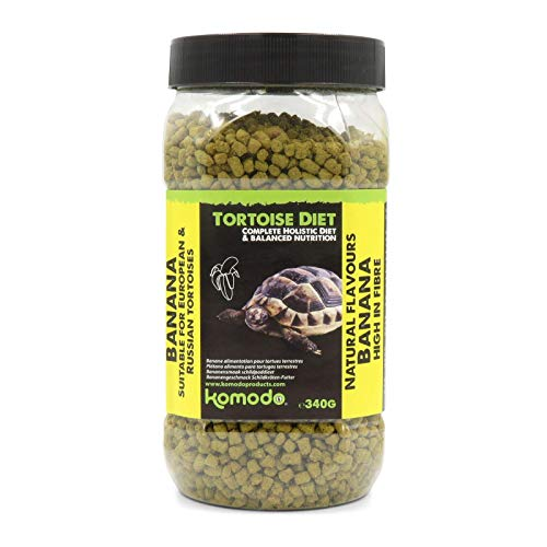 Komodo Complete Holistic Tortoise Diet Banana 340 g