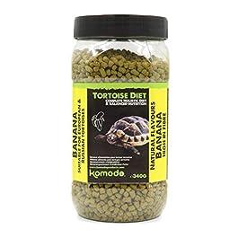Komodo Complete Holistic Tortoise Diet, Banana, 340 g tube