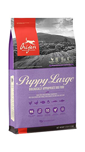 ORIJEN Puppy Dry Dog Food for Large Breeds,...
