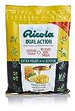 Ricola Dual Action Honey Lemon Cough Suppressant Throat Drops, 175ct Bag