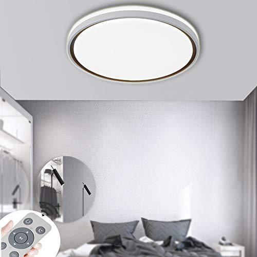 COOSNUG LED Deckenleuchte 72W Dimmbar Acryl Sternenlicht Deckenlampe Lampe Kreative Energiesparlampe für Flur Wohnzimmer Schlafzimmer Küche Büro mit Fernbedienung