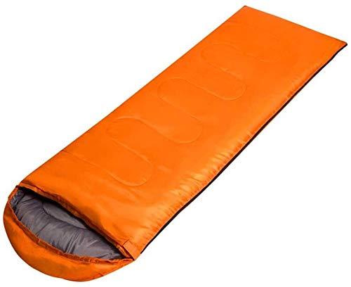 Sac de couchage Respirant léger et Chaud Adulte enveloppe intérieur déjeuner en Plein air Robe de Tapis de Sol Pause, Orange, 70 * 220cm, Taille Nom: 70 * 220cm (Color : Orange, Size : 70 * 220CM)