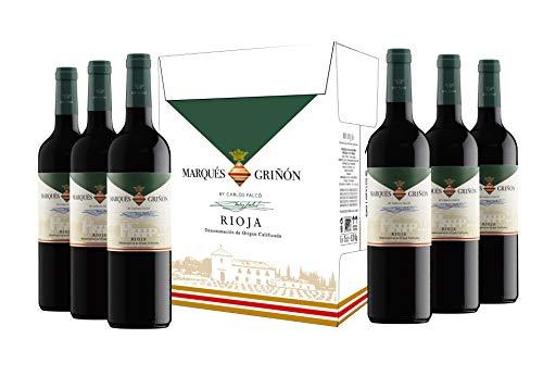 Caja de Marqués de Griñón D.O. Rioja Tempranillo - 6 botellas x 750 ml
