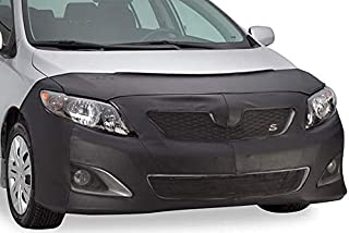 551140-01 Vinyl, Black Lebra Front End Cover 2008-10 Fits Honda Accord Sedan W//O Fog Lights W//O Fog Lights 2008-2009