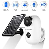 <span class='highlight'><span class='highlight'>YESKAMO</span></span> Security Camera Outdoor Wireless 1080P HD Rechargeable Battery Security Camera Magnetic Mount for Home Surveillance CCTV System Solar Power, 2 Way Audio, Night Vision, PIR & Motion Sensor