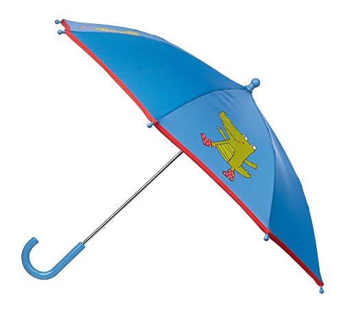 sigikid, Jungen, Regenschirm mit Krokodil, Blau, 24941