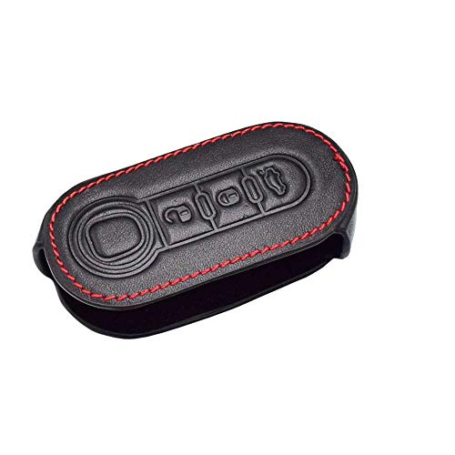 WOLDce Cubierta de protección de la Llave del Control Remoto del Coche, Apta para Fiat Brava Punto 500
