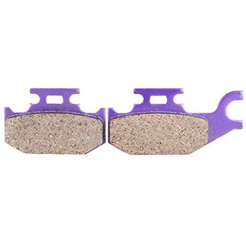 ECCPP fa307 Brake Pads Front Carbon Fiber Replacement Brake Pads Kits Fit for 2000-2006 Bombardier,2007-2015 Can-Am,2001-2003 Cannondale,2004-2005 John Deere,2000-2010 Yamaha