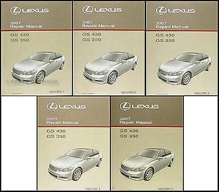2001 Lexus IS 300 Shop Service Repair Manual Book