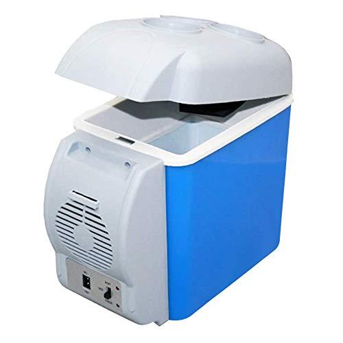 WSTERAO Kühlschrank Auto Kühlbox tragbare 7.5 Liter Elektrische Kühlbox Alleinversorger Kühlschrank Standkühlschrank für Auto, Innenraum, Camping