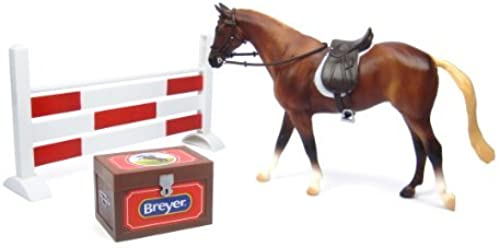 Breyer B61058 Classics 1 12 Scale Classics Show Jumping Horse Set by Breyer