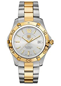 TAG Heuer Men's WAF1120.BB0807 Aquaracer Two-Tone Watch image