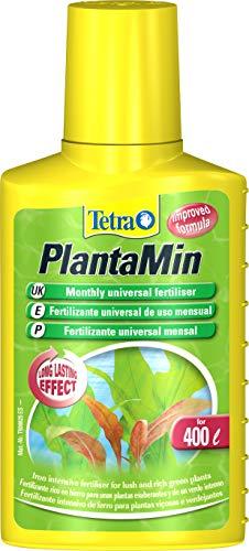 Tetra PlantaMin 100 ml - Fertilizante rico en hierro para unas plantas exuberantes y de un verde intenso