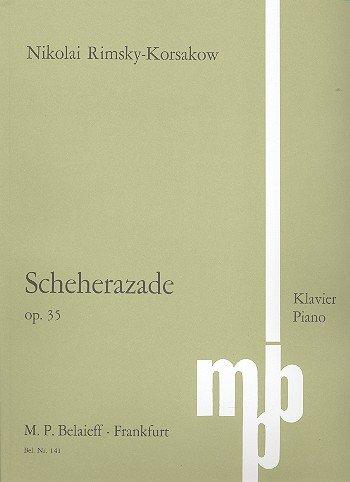Scheherazade: op. 35. Klavier.