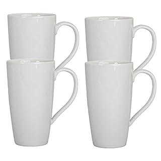 BIA Cordon Bleu White Porcelain 17 ounce Latte Mug - Set of 4 (B00C9LBN40) | Amazon price tracker / tracking, Amazon price history charts, Amazon price watches, Amazon price drop alerts