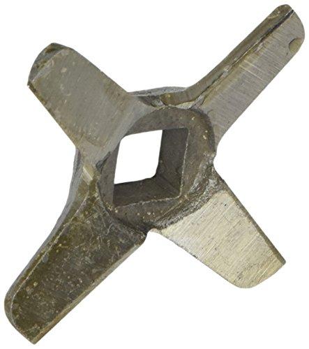 Stubai 773004 Couteau de Hachoir à Viande, Métal, Gris, 8 x 8 x 3 cm
