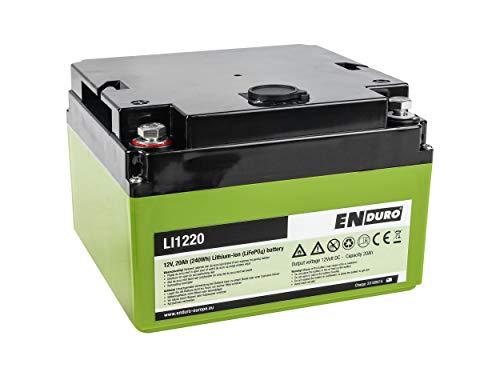 Enduro 11816 Lithium Batterie, 12 V, 20 Ah. LI1220