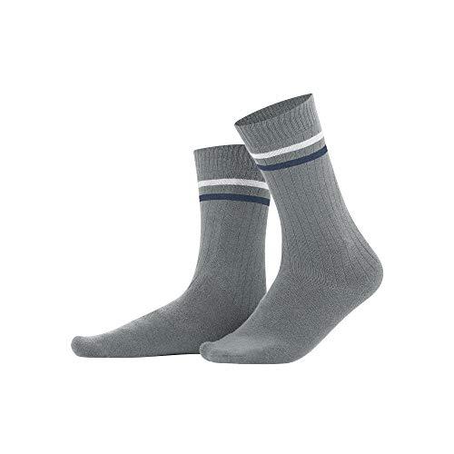 Living Crafts Socken 39-42, grey melange