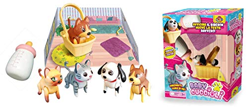 DYNIT KIDS - Pet Fun Center My Lovely Baby Cuccioli Gioco, Modelli Assortiti, DIP76067
